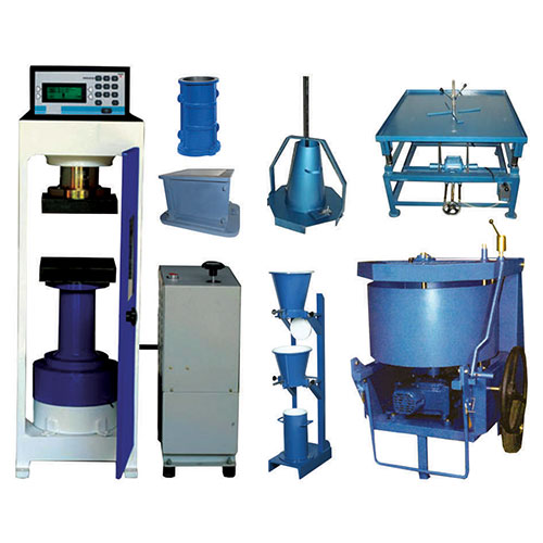 Concrete Testing Lab Equipments