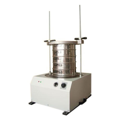 Sieve Shaker with Frequency and Time Adjustment