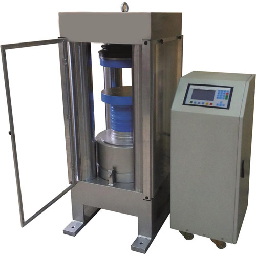 Fully Automatic Concrete Compression Testing Machine Four Pillar