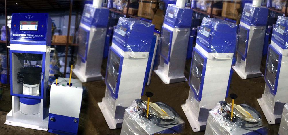 Concrete Testing Lab Equipments