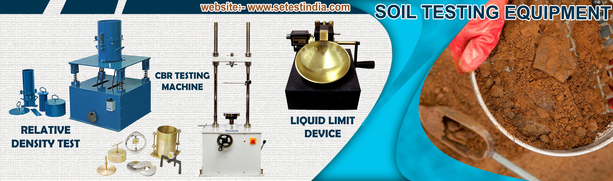 Civil Engineering Lab Equipment Manufacturers