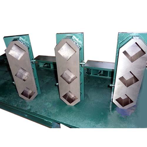 Three Gang Concrete Cube Mold