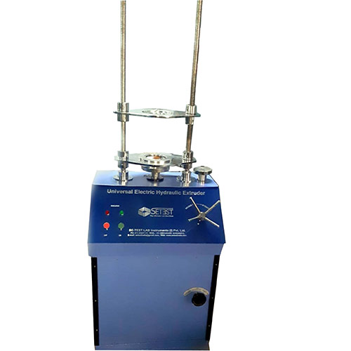 Motorised Hydraulic Specimen Extruder Vertical Type