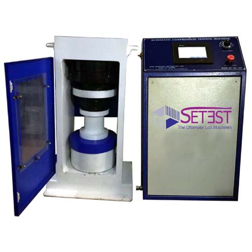 Semi Automatic Compression Testing machine power pack model