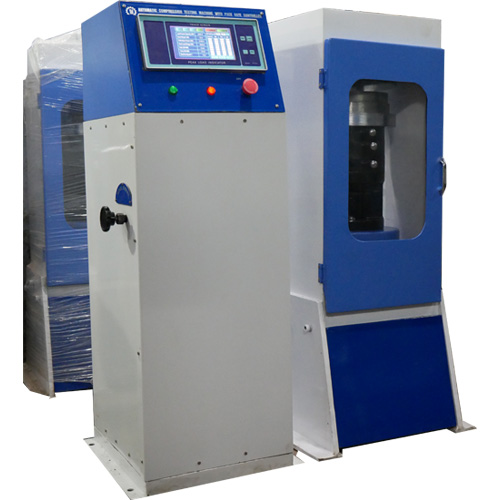 Semi Automatic Compression Testing machine Plate Type (power pack model