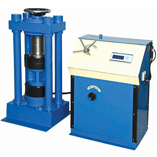 Digital Compression Testing Machine Hand Operated( Chanel and Pillar Type)