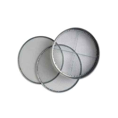 G. I. Frame Sieves 300 and 450 mm dia (Powder Coated)