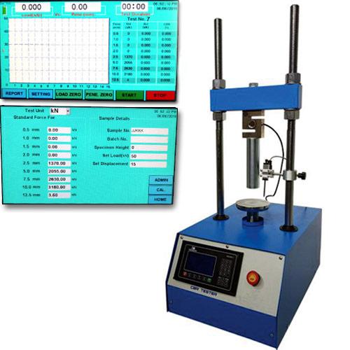 Automatic CBR Test Apparatus