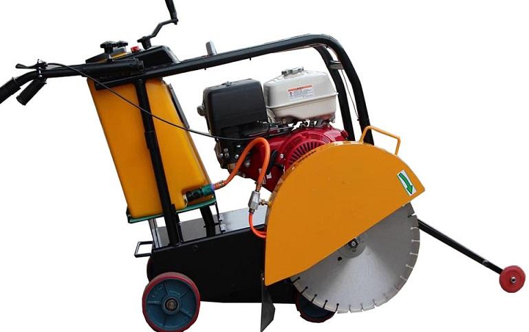 asphalt concrete floor saw machine