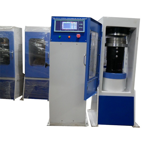 Semi Automatic Compression Testing machine Plate Type