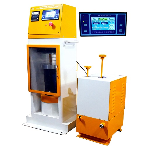 semi automatic compression testing machine plate type power pack