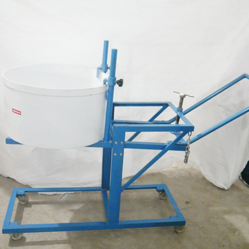 Laboratory Mixer Pan Type With Extra Drum And Trolly